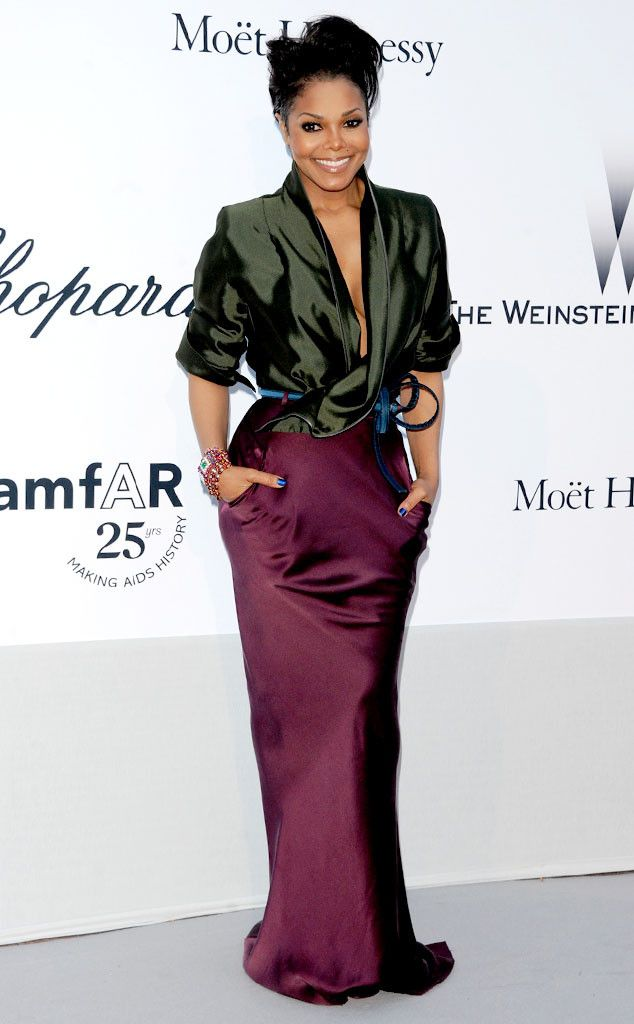 Feeling Plum: Janet Jackson's Best Looks From Red Carpet to Concerts
