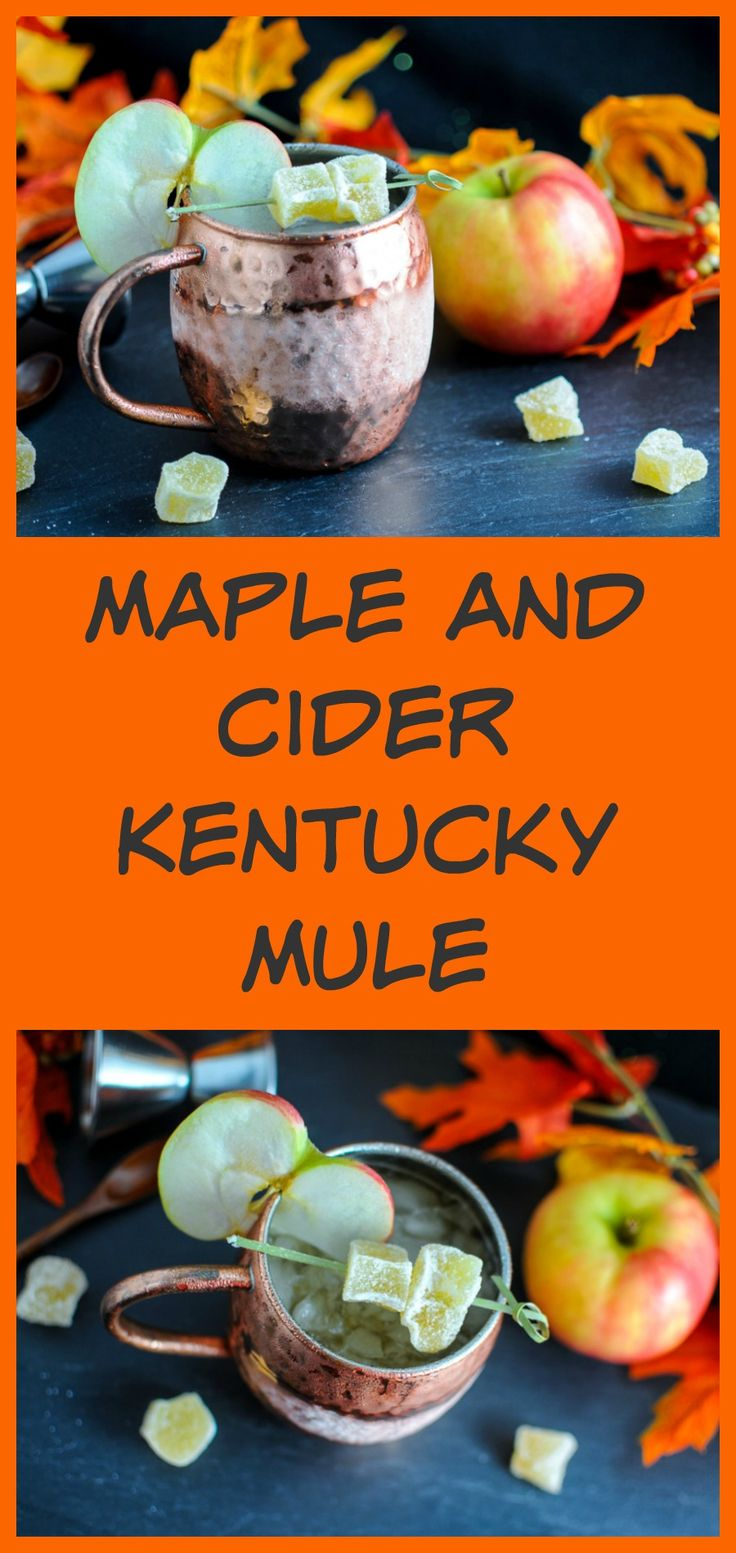 Maple and Cider Kentucky Mule - bourbon, apple cider, maple syrup ...