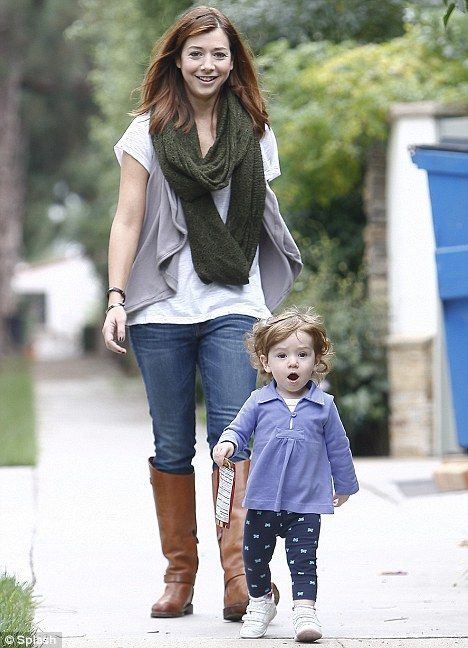 Alyson Hannigan, I didn't even know she had children, let alone 2 kids and is married <3
