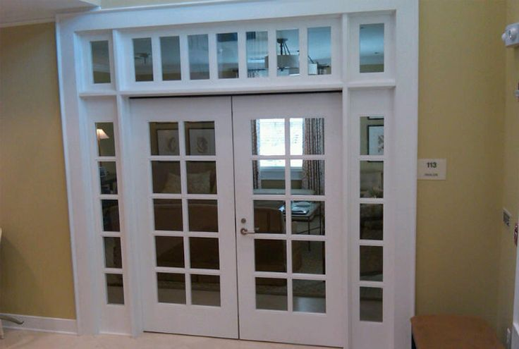 library doors transom interior - Google Search