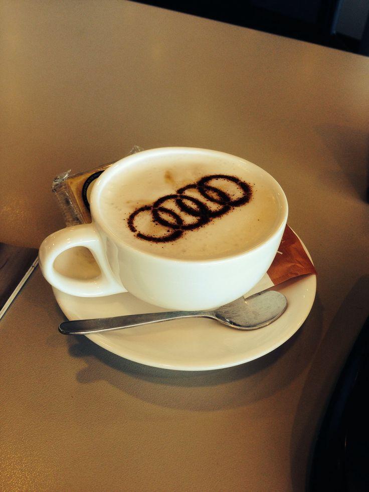 Audi coffee