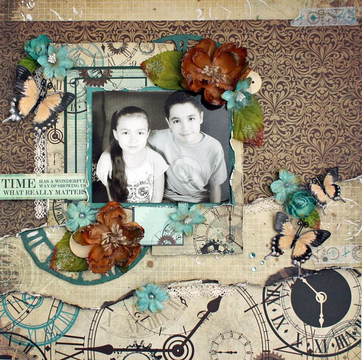 Swirlydoos Kit Club *What Really Matters* - Kaisercraft - Time Machine Collection http://angelicascrappenings.blogspot.com/