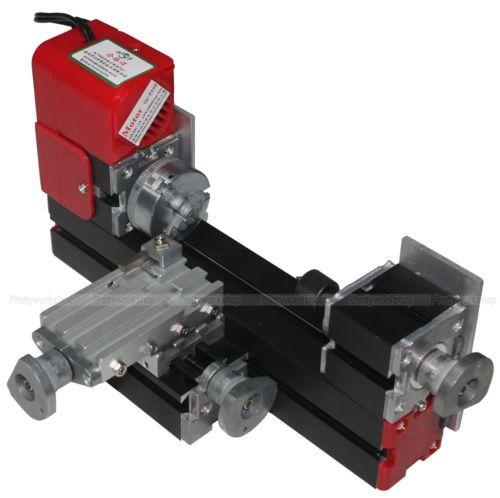 Details zur NO VAT Metall Mini Drehmaschine Holzbearbeitung DIY Elektrowerkzeug Modellbau