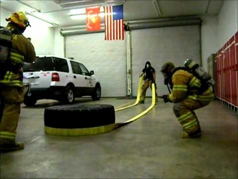 Firefighter workout