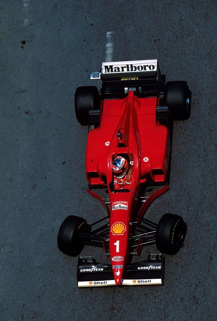 1996, Monaco GP, Monaco, Michael Schumacher, Ferrari