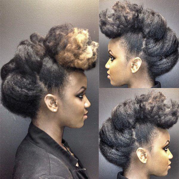 319 best natural hair brides images on pinterest natural hair natural hair updo with blonde in the front solutioingenieria Choice Image