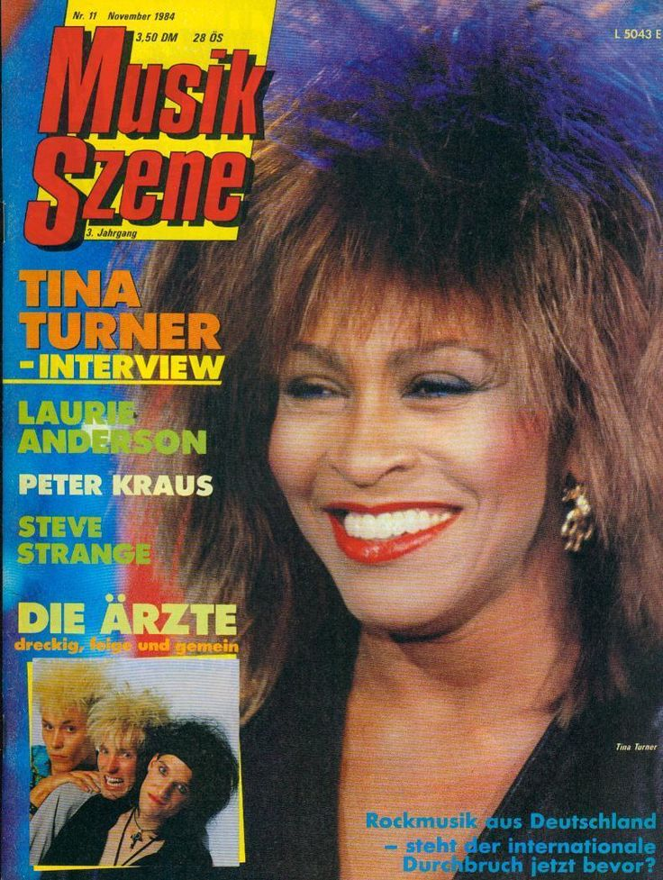 Musik Szene 1984/11 (Interview Tina Turner) in Bücher, Zeitschriften, Musik, Tanz & Theater | eBay!