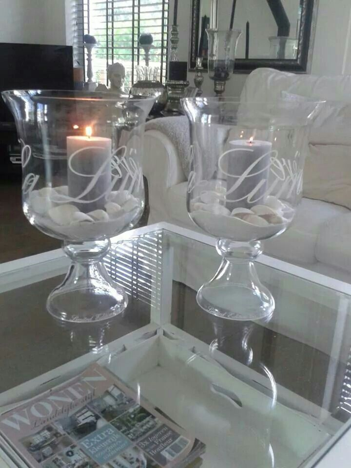 This gives me an idea to etch all those hurricane vases that we all have.  Etch monograms and give as gifts or etch inspirational words like FAITH HOPE LOVE etc.  I could also etch words that pertain to the contents inside and use them to organize