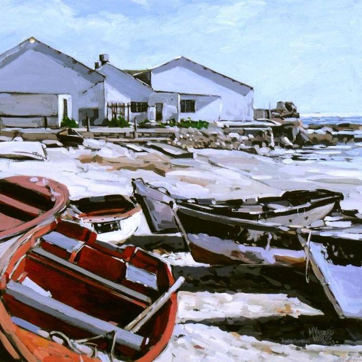Hondeklip Bay Harbour by Mynderd Vosloo