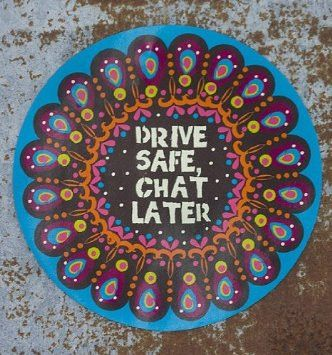 Natural Life Car Magnet- Drive Safe