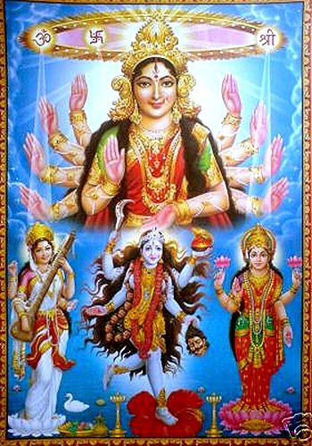 Prakriti and Tridevi-http://gnosticteachings.org/courses/teachings-of-the-hindu-gods/1730-the-divine-mother-the-power-of-love-sex-and-yoga.html