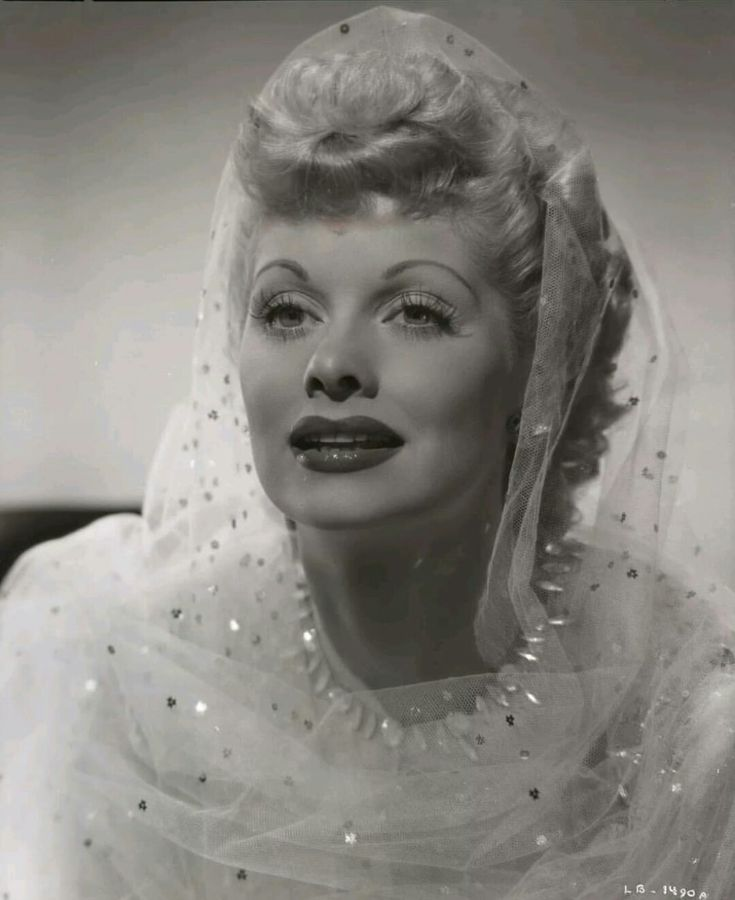 Lucille Ball, beautiful & multi-talented