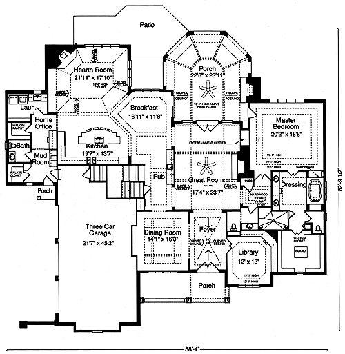 291 Best Home Design Blueprints Images On Pinterest