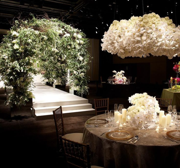 Floral Art for an amazing dinner by @ Jeff Leatham