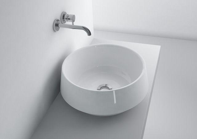 washbasin MIA ROUND 432C  #marmite #marmiteSA #washbasin #lavabo #waschtisch #simpledesign #schlichtesdesign #designépuré #bathroom #bagno #baignoire #badezimmer #bathroomideas #salleDeBainDesign #DesignPerIlBagno #DesignIdeen #designideas
