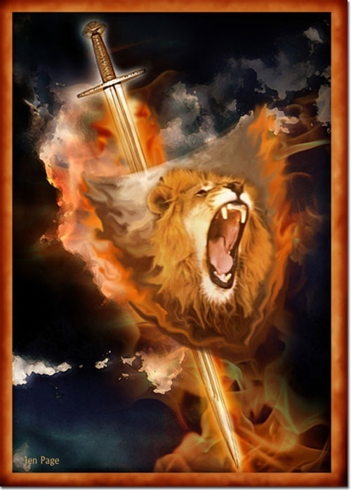 jennifer page prophetic art - Lion of the Tribe of Judah! Yeshua Hamashia, Jesus the Messiah! Our King of Kings - The Great I AM! my Lord & Savior!!!