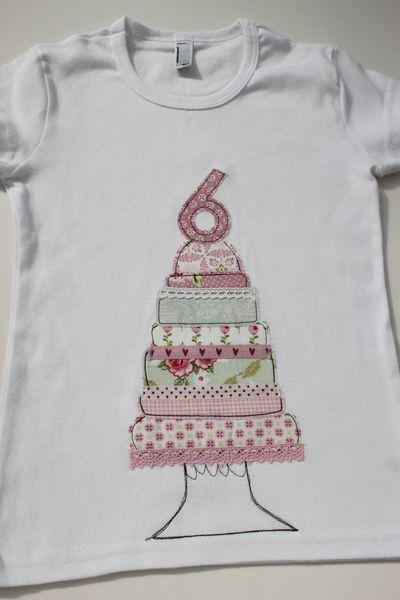 Geburtstagsshirt ★ CandyCake★ Edition 2015! von ★Milla Louise★ auf DaWanda.com