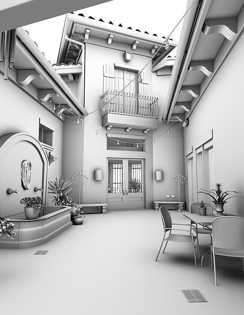 The Engine Room Design: 11 Best Ambient Occlusion Renders Images On Pinterest