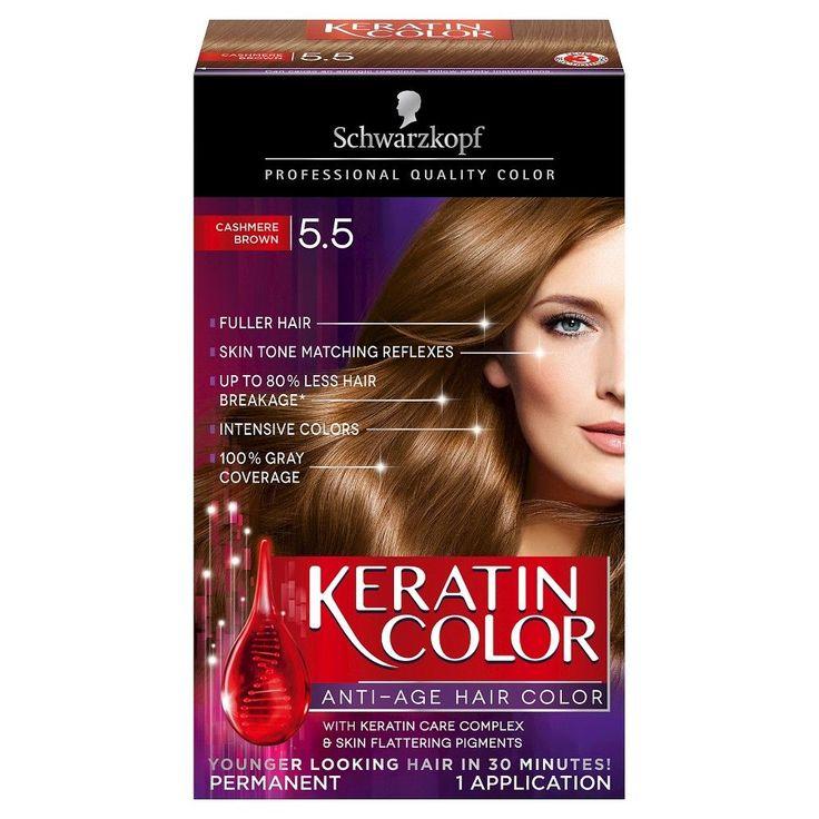Schwarzkopf Keratin Color Anti Age Hair Color 5.5
