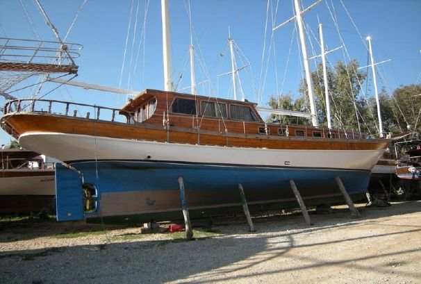 21 M 4 Cabins Gulet - http://boatsforsalex.com/21-m-4-cabins-gulet/ -           US$104,115 Used Gulet For Sale Turkey Year: 1989Length: 69'Engine/Fuel Type: SingleLocated In: TurkeyHull Material: WoodYW#: 79484-2687591Current Price: EUR75,000 (US$104,115) Turkish used wooden gulet for sale Disclaimer The Company offers the details of ...