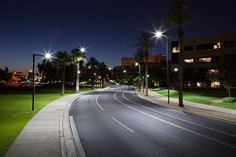 Led utcai lámpák, közvilágítás