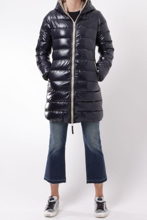 duvetica ace down coat blu navy fall winter 2016 shop online