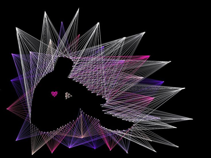 Free String Art Patterns | Geometry project: Literal Line Art by Susurratrix on deviantART