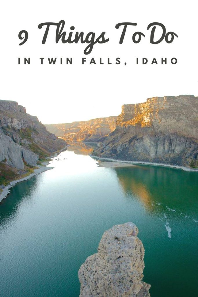 9 Things to do in Twin Falls Idaho - Heading to #Idaho this summer? Here's what to do if you stop in Twin Falls! - The Traveling Spud