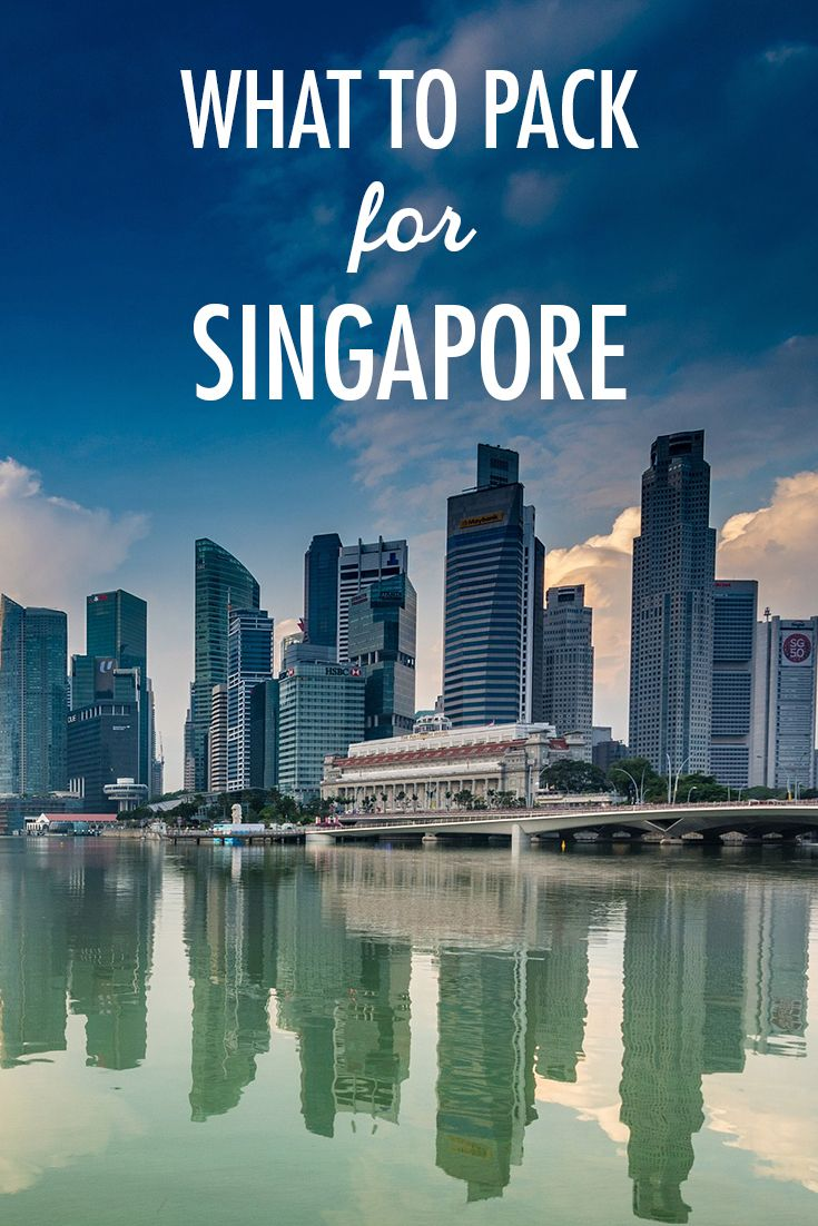 """Many have argued that Singapore is so tiny that it is not worth a visit, but I would beg to differ. It's absolutely packed with activities to do and sights to explore when visiting.  """"But what should I pack?""""  I'm glad you asked. The definitive packing list is a great place to start, and here are some considerations specific to Singapore."""
