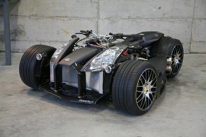 Lazareth Wazuma V8F Matt Edition powered by Ferrari V8 Engine