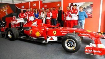 I member Scuderia Ferrari al Moscow City Racing!
