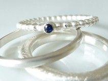 Verlobungsring mit Safir