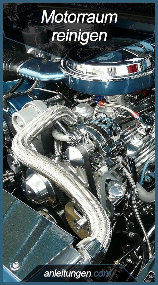 Motorraum reinigen – Hier wird in wenigen Schritten erklärt, wie man Motorraum …
