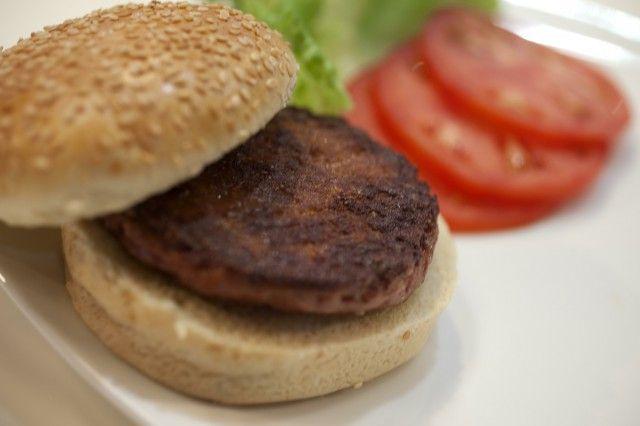 Frankenburger. Foto e recensione dell'hamburger sintetico di staminali