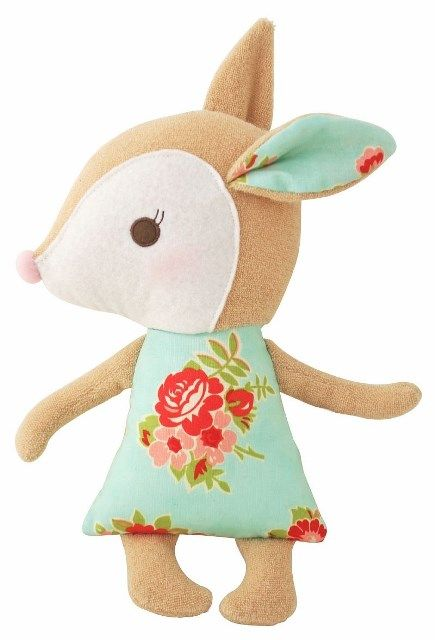 Alimrose Designs Woodland Deer Doll Price: $ 32.95  Super sweet, adorable and absolutely irresistible woodland deer doll by the amazing Alimrose Designs!  Little Boo-Teek - Alimrose Designs Online | Deer Doll | Baby Gifts Online