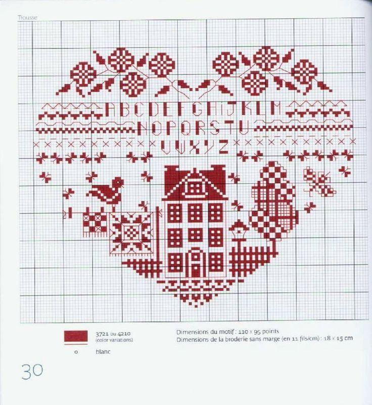 114 mejores imágenes de punto de cruz en Pinterest | Bordado de ...