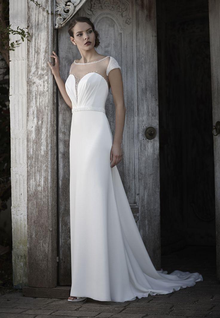Mysecret Sposa Collezione Zaffiro Cod. 17104  #mysecretsposa #sposa #collezionesposa #abitidasposa #wedding #weddingdress #bride #abitobianco