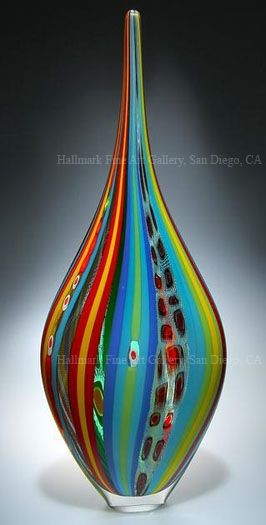 Image > David Patchen Hand Blown Glass Art - Resistenza
