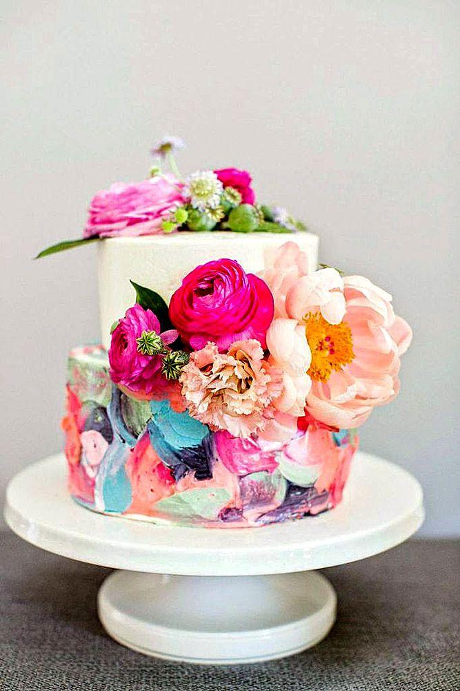 Exquisite Mini Wedding Cakes For Your Wedding ❤ See more: www.weddingforwar……
