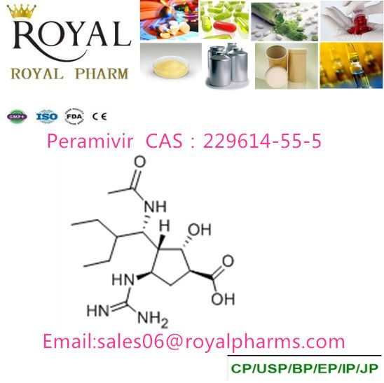 Peramivir/cas 229614-55-5/330600-85-6 Anti-bird flu/avian influenza