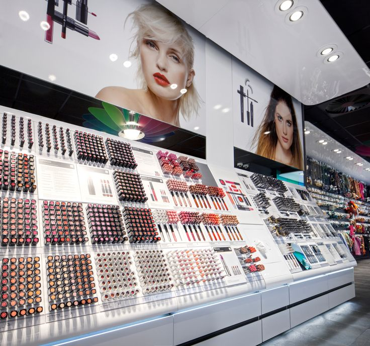 The elegant use of colour characterises Studio Tjep's redesign of the cosmetics department of European retailer Hema.
