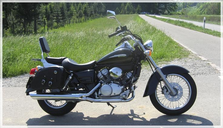 Honda Shadow 125 by oceanbased.deviantart.com