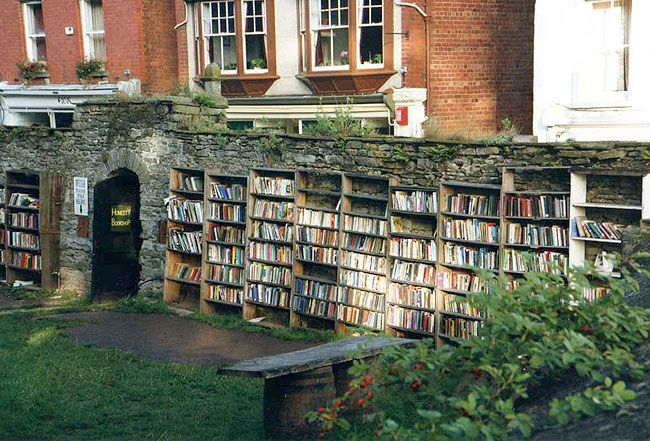 Hay On Wye, Wales-known for their book stores