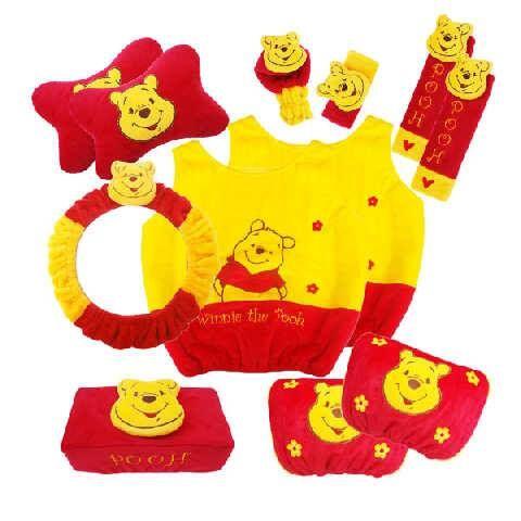 Bantal Mobil 8 in 1 Winnie The Pooh | Harga Grosir - Grosir Tas Murah,Tas Anak,Dompet Wanita,Grosir Sprei,Bantal Mobil,Bantal Selimut