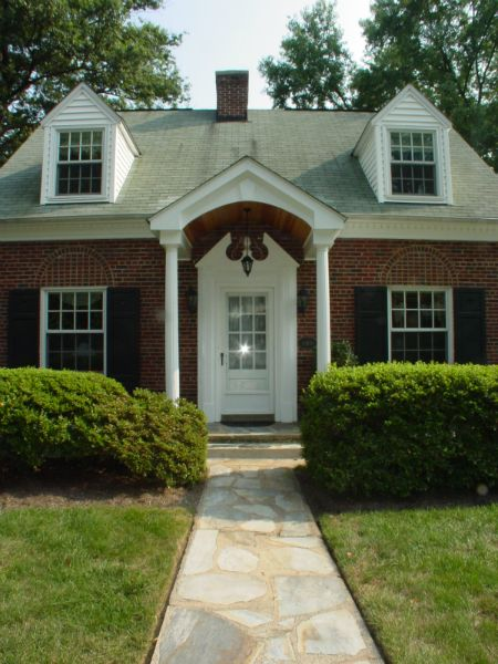 Two Story Rear Addition Arlington Va: 81 Best Images About Cape Cod Curb Appeal On Pinterest