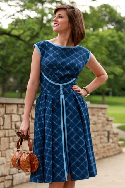 Butterick '52 Retro pattern (B4790) dress