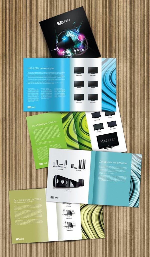 40 Inspiring Booklet Designs | Desigg | Daily Design Inspiration