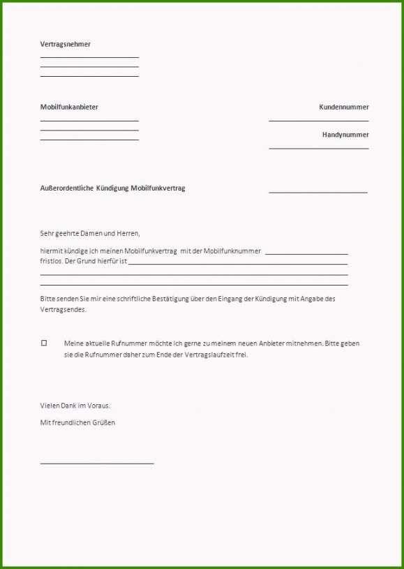 Kundigung Arbeitsvertrag Betriebsbedingt Vorlage Vorlagen Kundigung Vorlagen Word