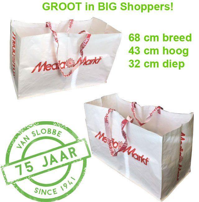 Groot in BigShopper tassen https://www.vanslobbe.nl/nl/tassen/boodschappentassen/big-shopper-boodschappentas