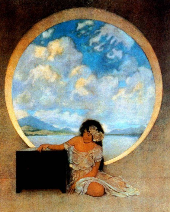 Максфилд Пэрриш (Maxfield Parrish) картины